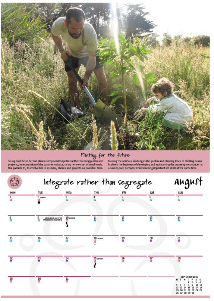 2016 Permaculture Calendars (2/3)