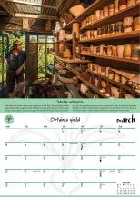 2018 Permaculture Calendar spread 3 copy