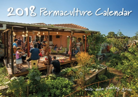 2018 Permaculture Calendar Cover