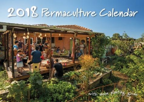 2018 Permaculture Calendar Cover